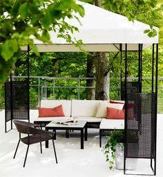 Sombrillas y cenadores de ikea para tu terraza y jard n mi jard n bonito pinterest - Balancin jardin ikea rouen ...