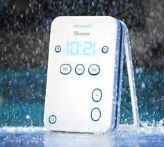 Ishower Water Resistant Portable Speaker - http://homeypic.com/ishower-water-resistant-portable-speaker-2/