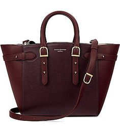 2672450ae560 ASPINAL OF LONDON Marylebone medium Saffiano leather tote (Burgundy