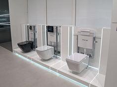 La tecnología protagoniza el diseño de #baños. #Noken Baños Porcelanosa Washroom Design, Bathroom Design Luxury, Modern Bathroom, Kohler Showroom, Tile Showroom, Showroom Interior Design, Furniture Showroom, Kitchen And Bath Showroom, Bathroom Showrooms