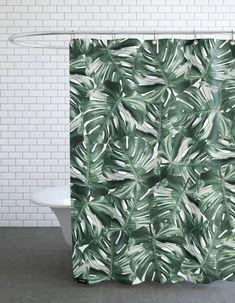 15 rideaux de douche pour une salle de bain tendance - Des idées