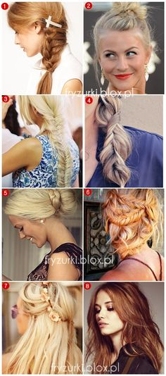 Fryzury na lato 2013, 2014 / Summet hairstyles click on the source and visit blog with links to all of this hairstyles!