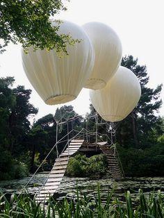 Featherweight Bridge at Tatton's Japanese Garden
