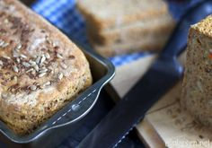 Healthy homebaked carrotbread
