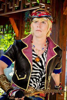 Locke (Final Fantasy VI) |  Cos: Mikers Ph: MikoBura  #finalfantasy #ffvi #finalfantasy6 #locke #cosplay #malecosplay #cosplayer #dutchcosplay #costume #handsome #cosplayphotography #videogame #videogamecosplay