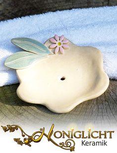 Seifenschale aus Keramik von Honiglicht auf DaWanda.com