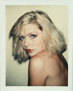 Debbie Harry by Andy Warhol (1980)