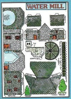 Cut Out Postcard Fiddlers Green Farmhouse - Google zoeken
