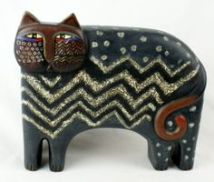 Laurel Burch Cat Figurine Large Black Statue | eBay