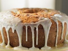 Kyle's Lemon Pound Cake With Reba's Royal Glaze recipe from Trisha Yearwood via Food Network