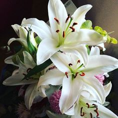 Lillies from the 10th Wedding Anniversary
