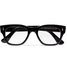 """Cutler and Gross - Two-Tone Square-Frame Optical Glasses - 423684