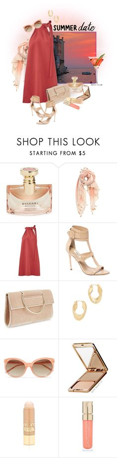 """Summer Date Night"" by valeria-meira ❤ liked on Polyvore featuring Bulgari, Michael Stars, Keepsake the Label, Miss Selfridge, Soave Oro, Linda Farrow, Napoleon Perdis, L.A. Girl, Smith & Cult and summerdatenight"
