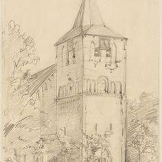 Kerktoren van Garderen.Frederik de Graaf.
