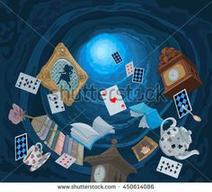 Buy Wonderland Rabbit Hole by Dazdraperma on GraphicRiver. Abstract background of objects falling down in rabbit hole. Tornados, Lewis Carroll, Alice In Wonderland Syndrome, Alice Rabbit, Computer Icon, Adventures In Wonderland, Casino Theme Parties, Illustrations, Rabbit Hole