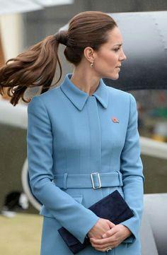 Catherine, Duchess of Cambridge visit Omaka Aviation Heritage Centre, 10.04.14 in Blenheim, NZ.