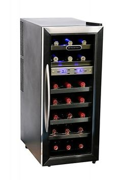 $299.00 Whynter Dual Temperature Zone Freestanding Wine Cooler - See More Wine Coolers Refrigerators at http://www.zbuys.com/level.php?node=5667=wine-coolers-refrigerators