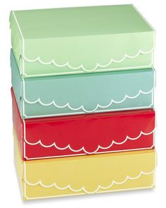 Use these adorable boxes to tote your cupcakes! Get them here: http://www.bhg.com/shop/williams-sonoma-cupcake-boxes-set-of-4-p50603cce82a71c80fe20d72e.html?mz=a