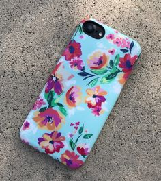 Always in bloom. Mint Paradiso Case for iPhone 7 & iPhone 7 Plus. From the summer 2017 Floral collection at Elemental Cases.