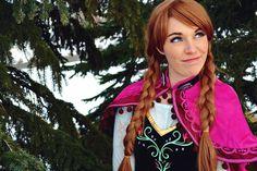 Princess Anna Photoshoot, Frozen Photoshoot, Disney Photoshoot, Princess Photoshoot.
