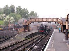 Bridgnorth Station - on the Severn Valley Railway