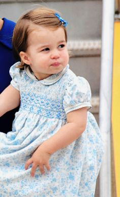 ready4royalty:  Princess Charlotte, September 24, 2016