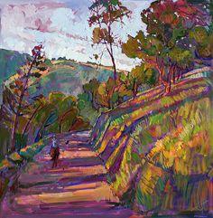Horse Trail Painting-Erin Hansen