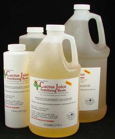 TurnTex Woodworks - Cactus Juice Stabilizing Resin
