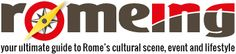 Romeing   english magazine in Rome, events in Rome, exhibitions, jobs vacant