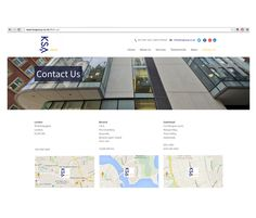 IM London | KSA Group | Responsive CMS website