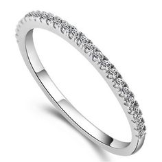 Click link to buy 0.015 Carat Real ... http://www.jeremiahjewelry.online/products/0-015-carat-real-genuine-925-sterling-silver-elegant-simulated-diamond-rings-for-women-wedding-engagement-jewelry-cz-micro-pave?utm_campaign=social_autopilot&utm_source=pin&utm_medium=pin @JeremiahJewelry.Online