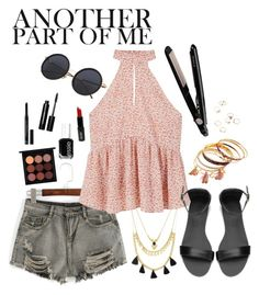 """""""Another Part of me"""" by laura-rathbone on Polyvore featuring Forever 21, WithChic, MANGO, Christian Dior, Bobbi Brown Cosmetics, Essie, MAC Cosmetics, Lord & Berry and BaByliss"""