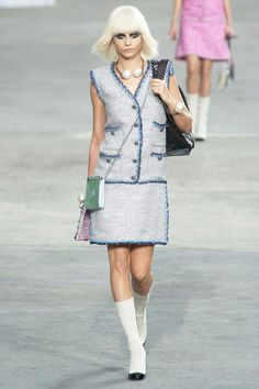 Spring 2014 RTW  Chanel Collection #cara