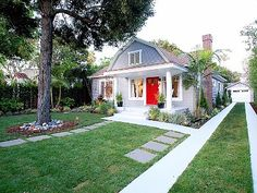 West Hollywood - enclosed yard and private Hollywood driveway.  Can you imagine the price tag on this little gem?