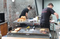 The Boiler Shop Steamer - Newcastle Street food event - The Fat Hippo