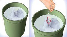 Ρίχνει ασπιρίνες σε ένα κουβά με νερό και λέει αντίο σε ένα ενοχλητικό πρόβλημα