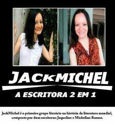 """Flyer Promocional JackMichel """"A Escritora 2 Em 1"""""""