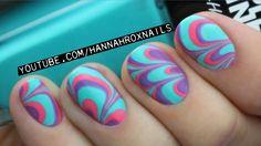 Water Marble Nail Art (Tips & Tricks!)