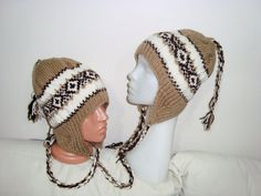 Matching Friend Ear flap HatsWinter Accessories by earflaphats, $70.00