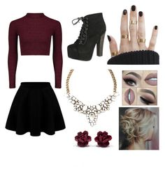 """""""Untitled #5"""" by vanessatwinkles on Polyvore featuring Breckelle's"""
