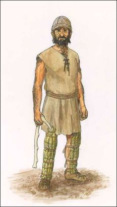 Miner from Bronze Age Wales, looking suitably Iberian (as suggested by the latest genetic evidence). Historical Costume, Historical Clothing, Ancient Rome, Ancient History, Prehistoric Period, Classical Period, Iron Age, Natural History, Fantasy Characters