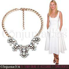 Tanto para una cena como para ir a la oficina, con el #collar de cristales Agatha irás sensacional ★ 12,95 € en http://www.conjuntados.com/es/collar-de-cristales-transparentes.html ★ #novedades #necklace #conjuntados #conjuntada #joyitas #lowcost #jewelry #bisutería #bijoux #accesorios #complementos #moda #fashion #fashionadicct #picoftheday #outfit #estilo #style #GustosParaTodas #ParaTodosLosGustos