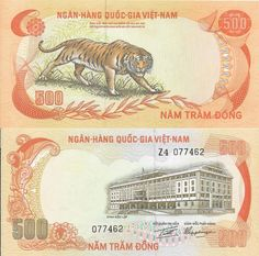 Roberts World Money Store and More - Vietnam South Dong Banknotes French West Africa, Money Notes, Money Bank, South Vietnam, World Coins, Coin Collecting, Bank Deposit, Bank Account, Gothic Girls