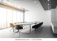 Office Business Beautiful Boardroom Meeting Room ภาพประกอบสต็อก 1681788856 Space Words, Commercial Property For Sale, Beauty Studio, Room Interior, Floor Plans, Flooring, Modern, Table, Classroom