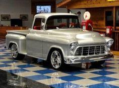 Google+/1955 Chevrolet 3100 Stepside Big Window