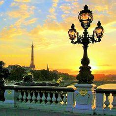 Paris...at the Sunset !