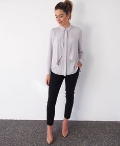 Perfect Work Office Outfit Ideas 11