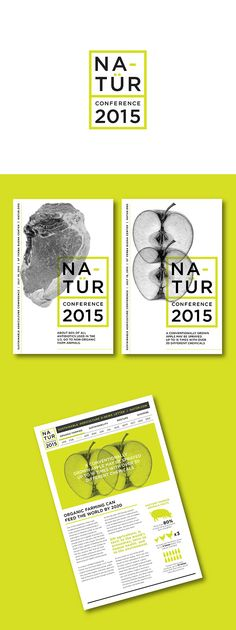 Visual systems school project for a sustainable agriculture conference held in San Francisco. ray style images paired with bright green accents. Web Design, Book Design, Layout Design, Print Design, Conference Branding, Conference Poster, Design Conference, Brochure Design, Branding Design