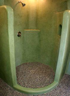 nice shower...... I love the floor