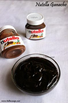 How to make Nutella Ganache(How To Make Cake Filling)